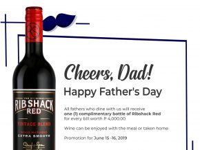 Score A Bottle of Wine When You Dine At These Restaurants This Father's Day