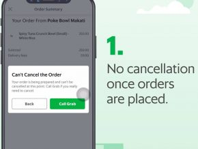 GrabFood PH To Implement Penalties and Account Suspension for Cancelled Orders