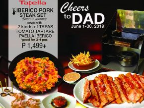 Tapella Offers Cheers to Dad Promo This Father's Day