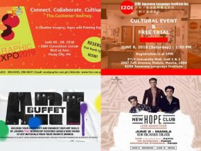 EVENTS IN MANILA: June 7 to 9, 2019