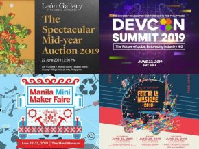 EVENTS IN MANILA: June 22-23, 2019