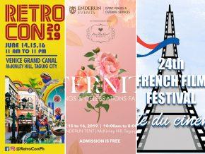 EVENTS IN MANILA: June 15-16, 2019