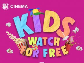 Kids Can Watch Movies at SM Cinemas for Free