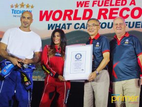 Caltex Presents Record-Breaking Fuel Campaign