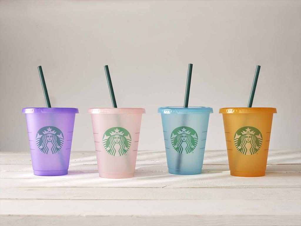 198fa7b05ab Starbucks Reusable Cup Now Comes in Four Exciting Colors ...