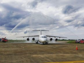 Cagayan Airport Welcomes First Commercial International Flight from Macau