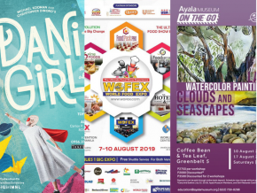 EVENTS IN MANILA: August 10-11, 2019
