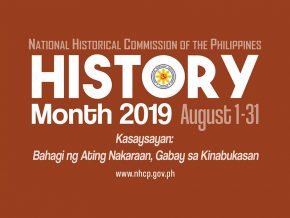 NHCP Releases Month-Long Events for History Month 2019