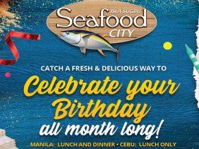 Celebrate Your Birthday at Isla Sugbu Seafood City