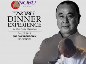 Chef Nobu Matsuhisa Returns to Helm an Epic Dinner Experience at Nobu Manila, City of Dreams