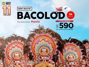AirAsia Philippines Starts Manila-Bacolod Flights in October
