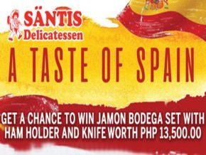 Have a Taste of Spain in Manila at Säntis Delicatessen