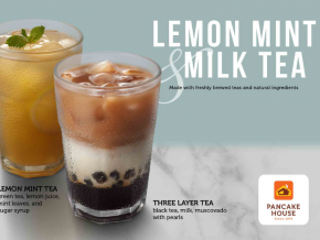 Try Out Pancake House's New Milk Tea and Adobo Flakes