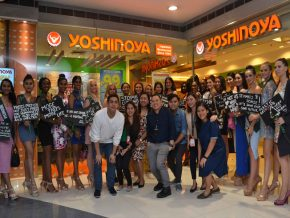Yoshinoya Holds A Special Dinner Date with Miss Earth 2019 Candidates