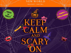 Keep Calm and Scary on with New World Makati Hotel's Halloween Treats