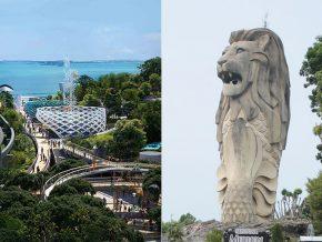 Singapore to Demolish Famous Attraction Sentosa Merlion