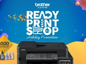 Brother Offers Ready, Print, Shop Promo This Holiday