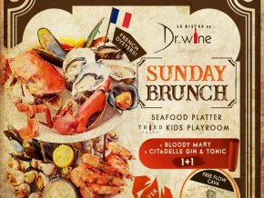 Dr. Wine in Makati Makes Weekends Exciting with Delectable Sunday Brunch Offering