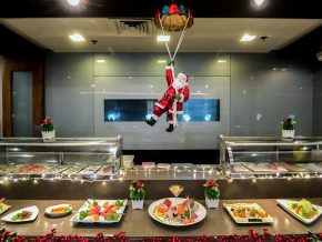 Kitsho Japanese Restaurant Prepares a Grand Christmas Buffet for Everyone