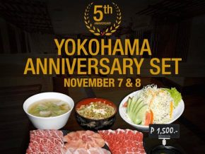 YOKOHAMA Meat Kitchen in Makati Celebrates 5th Anniversary with Two-Day Promo