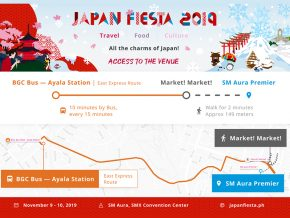 Find Your Way to Japan Fiesta on November 9 and 10