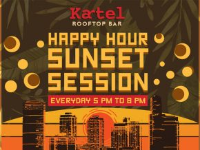 PROMO: Kartel Rooftop Bar Happy Hour Sunset Session