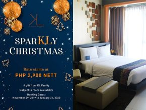 KL Serviced Residences Offers a Sparkly Christmas Promo Effective Until January 2020