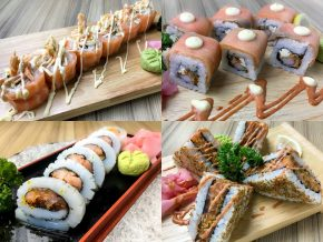 Kitsho Japanese Restaurant Welcomes the New Year With New Line of Filling Rolls