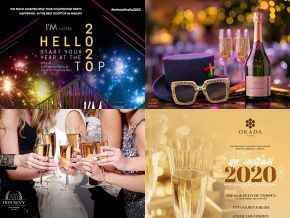 2020 New Year's Eve Party Countdowns in the Metro