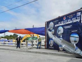 Construction of Metro Manila Subway Project Formally Begins With Site Clearing Works