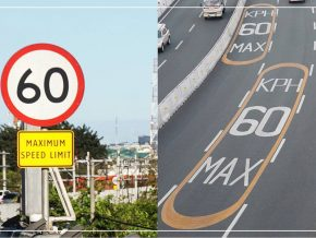 NAIAX Closely Monitors the Speed Limit With Cameras, Displays