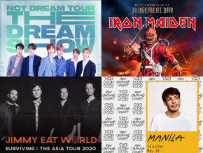 LIST: 2020 Concerts in Manila You Shouldn't Miss
