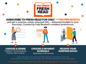 Fully Booked Introduces Monthly Subscription Service