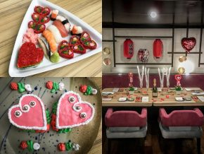 Kitsho Japanese Restaurant to Offer Valentine's Dinner Buffet for Romantic Couples