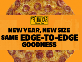 New Year, New Size: Yellow Cab Introduces 9-Inch Classic Pizza