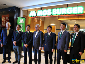 Japan's MOS Burger Opens Its First Store in PH