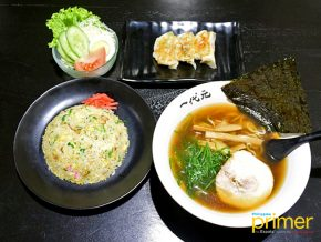 Ramen Ichidaigen in Poblacion Now Serves Lunch Set Menu