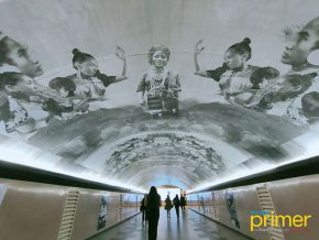 Makati's Salcedo Underpass Displays Public Art Installation as Tribute to Filipinos