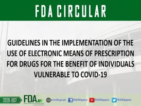 FDA Allows Use of Electronic Prescription During ECQ