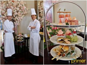 Raffles Makati Brings Japanese Springtime Closer with Their Sakura Afternoon Tea Set
