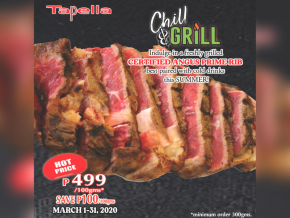 PROMO: Indulge in Certified Angus Prime Rib With Tapella Restobar's Treat This March