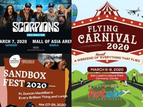 EVENTS IN MANILA: March 7 to 8, 2020