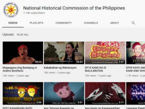 National Historical Commission of the Philippines Releases 6 Documentaries on YouTube