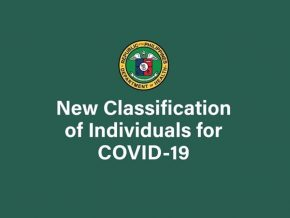 DOH Simplifies Classification to Identify COVID-19 Patients