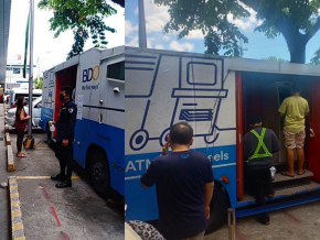 ATM on Wheels: BDO Brings Bank Services in Select Quarantine Areas