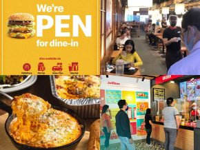 LIST: Restaurants, Fast-Food Chains Now Open for Dine-in in GCQ