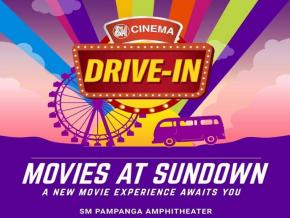 SM Pampanga Opens PH's First Drive-in Cinema on July 31