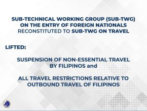 Non-Essential Travel Now Allowed for Filipinos as IATF Lifts Ban