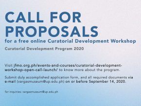 Join Japan Foundation Manila's Curatorial Development Workshop Open Call and Launch!