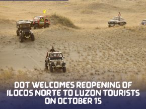 DOT Reopens Ilocos Norte to Luzon Tourist Starting Oct 15!